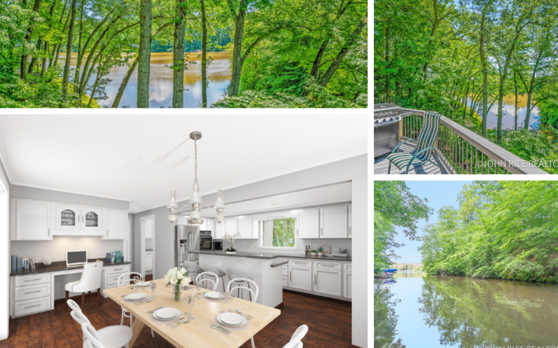 Excellent Waterfront Opportunity: Thornapple River Waterfront Forest Hills Schools